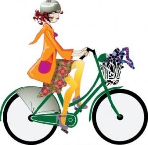 Kvinde_på_cykel_20091