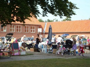 Loppemarked i Tureby/Alkestrup